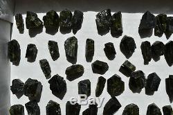 WHOLESALE Dark Green Epidote Crystals from Peru 97 pieces 1 kg # 6182