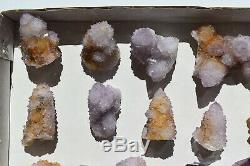 WHOLESALE Druzy Spirit Cactus Quartz from South Africa 35 pieces 1.5 kg # 4034