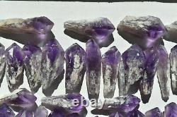 WHOLESALE Laser Amethyst Crystals from Bahia, Brazil 49 pieces 1 kg # 4400