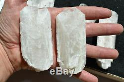 WHOLESALE Pink Danburite Crystals from Mexico 11 pieces 1.6 Kg # 4279