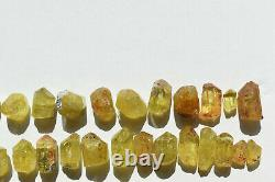 WHOLESALE Yellow Apatite Crystals from Mexico 69 pieces 450 grams # 4264