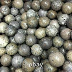 Wholesale! 100 Pieces Dinosaur Bone Fossil crystal small ball healing Madagascar