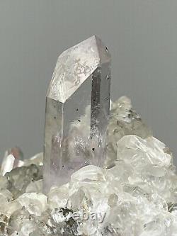 Wholesale 6 Pieces Brandberg amethyst Goboboseb Mountain Quartz Mineral Flat