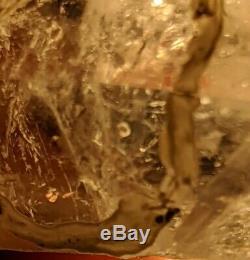 Wholesale Brandberg Amethyst Enhydro Quartz 13 piece mineral Flat parcel lot