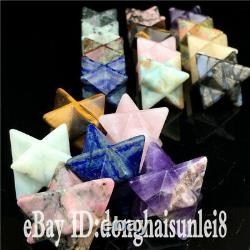 Wholesale Elixir Merkaba Star crystal quartz reiki point healing 100pieces