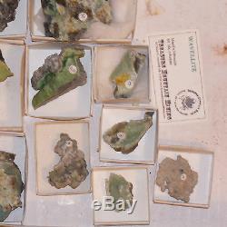 Wholesale Flat 10 pieces Green WAVELLITE Crystals onChert Arkansas @$10 for sale