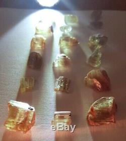 Wholesale Lot, Color Change Diaspore Crystals, 18 Pieces 138 Crt, 100% Natural
