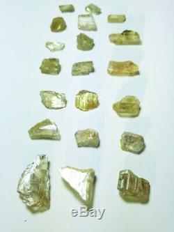 Wholesale Lot, Color Change Diaspore Crystals, 20 Pieces 155 Crt, 100% Natural