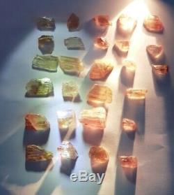 Wholesale Lot, Color Change Diaspore Crystals, 27 Pieces 199 Crt, 100% Natural