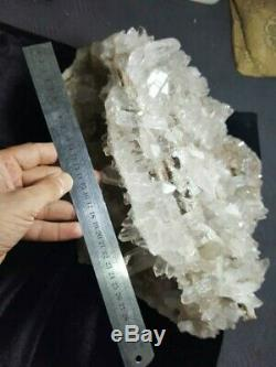 Wonderful Large Museum Quality Piece of Quartz Cluster having Geode shape inside