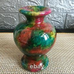 1090g Un Morceau De Couleurs Naturelles Sept Spécimen Jade Vase -taiwan Chine 01