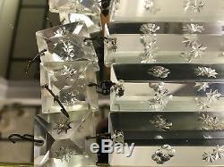 10 Pièces De Prismes En Cristal De 6 Pouces Avec Un Design Délicat
