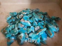 1300 Grammes Opale Bleue Andale Pierre Naturelle Brute Haut Grade Pérou220 Pièces Aaa