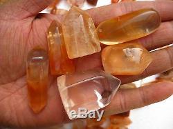 170 Pièces 5.5lb Rare Cristal De Quartz Rouge Naturel Guérison De Guérison