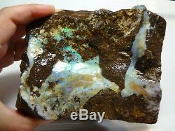 1,304 Kilogramme Naturel Eromanga Boulder Opal Rugueux Spécimen Piece Lapidaires Hobby