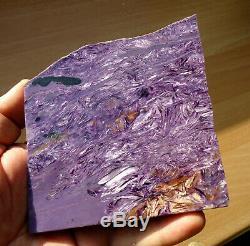 239gr. Piece De Amazing Poli Extra Parquet Charoite Siberia De