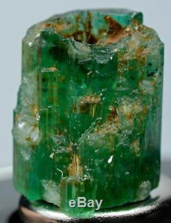 24.70 Carat Ten Pieces Cristaux Emeraude Naturels Bruts Lot (4,50 Carats 1,50 Ct)