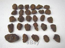 29 Pièces Rare Meteorite De Fer De La Chine