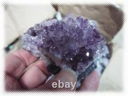 30 Livres Lots Améthyste Crystal Geode Pieces