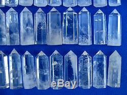 48 Pièces Natural Cristal De Quartz Clair De Guérison Point
