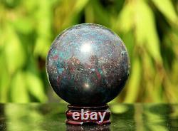 5 Pièces Sphères Grande 4 Blue Ruby Kyanite Crystal Quartz Chakra Healing Stone