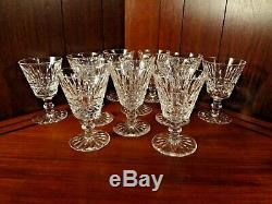 65 Pieces Waterford Crystal Tramore Pattern Collection Décanteur + 64 Lunettes