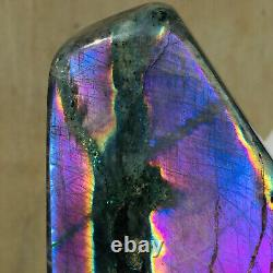 666g Natural Purple Labradorite Crystal Piece Rough Healing Specimen (en)