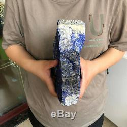 7.84lb Naturelle Lapis-lazuli Pièces Sur Le Lieu De Pierre De Quartz Du Point Barreau Cristallin G708