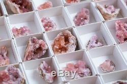 Amode Rose Geode Lot De 54 Pièces De Neuquen Argentine