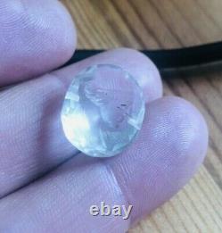 Antique Géorgien Sculpté Roche Cristal Fob Seal Rare Collectable Grand Tour Piece