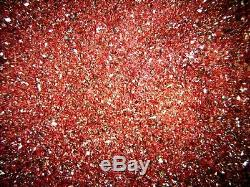 Beaux Sol Cinabre Cristal Minuscules Morceaux 1 KG Lot