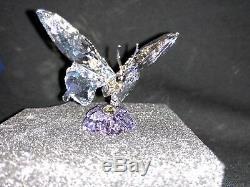 Brand New Swarovski Crystal Society Piece Event 2013 Papillon Rare Adamer