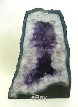 Cathédrale Améthyste Cristal Naturel 37,3 Lbs Excellent Affichage Piece Reiki