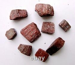 Cinnabar Cristal 8 À 25 G Morceaux (200 G Lot) Spécimens Minéraux Talisman #403