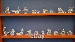 Collection D'animaux En Cristaux Swarovski (31 Pièces)