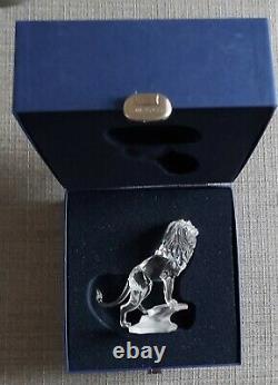 Collection D'animaux En Verre De Cristal Swarovski-5 Pieces-all Boxed-mint Condition