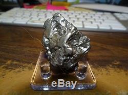 Cristal De Meteorite Campo De 144 Monsieurs Campo Grande Piece Grande Taille Avec Stand