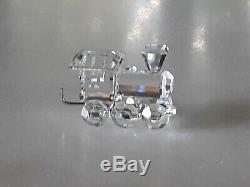 Cristal Swarovski 4 Pièces Mini Train 7471 Nr 400 000 Nouveau Dans Une Boîte Avec Coa