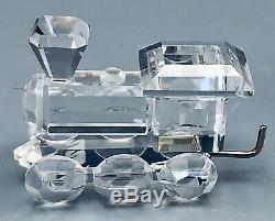 Cristal Swarovski 4 Pièces Mini Train 7471 Nr 400 000 Nouveau Dans Une Boîte Avec Coa Retraité