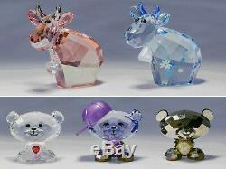 Cristal Swarovski 56 Piece Lovlots Collection + 76 Autres Swarovski Pieces