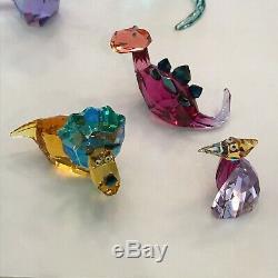Cristal Swarovski Lovlots Dinosaurs (cinq Pièces) Monnaie