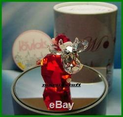 Cristal Swarovski Lovlots Père Noël Et Hot Chili Mo 2 Pieces Limited Edition Bnib