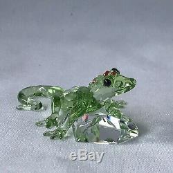 Cristal Swarovski Scs Green Gecko Piece Événement 2008 905541