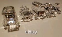 Cristal Swarovski Train 5 Piece Set + Base De Miroir