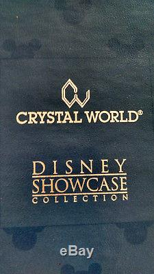 Crystal World Grande Figurine Château Fantasy Dans Une Boîte À La Retraite Pièce Rare