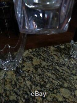 Daum France 3 Crystal Clear Collection De Pièces Belle