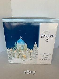 Dept 56 Special Edition Cristal Ice Palace 16 Pieces Ensemble Complet # 56,58922