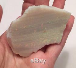 Énorme Morceau D'opale De Feu Australienne Opale 431 Ct