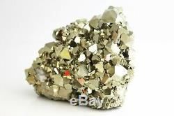Extra Large Formation Pyrite Cube De Cristal Exceptionnelle Affichage Piece, 4,995 KG