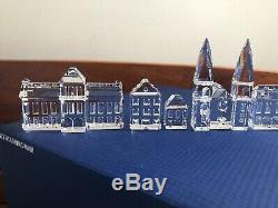 Figurine En Cristal Swarovski 11 Pièces Crystal City Complet Tous Neuf Dans Des Boîtes